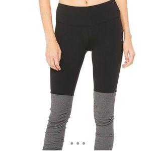 Black and gray alo goddess leggings size small